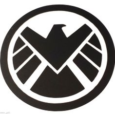 Avenger and Marvel agents of SHIELD logo Vinyl decal Size Color & Style Options. Should get this for my car.
