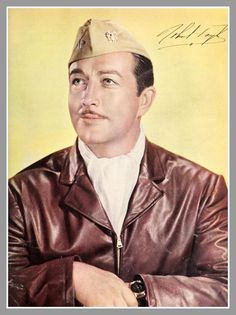 Robert Taylor (né Spangler Brugh: August 5, 1911 – June 8, 1969). Born in Filley, NE. Served in the US Navy Air Corps during WW II. Film and television actor best known for his role in the film Bataan, and for his role in the television series The Detectives and as host of Death Valley Days.