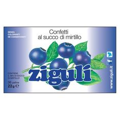 ZIGULI Mirtillo 22 g