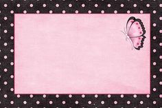 Con Color Rosa: Invitaciones, Marcos o Etiquetas para Imprimir Gratis.