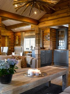 Strategy, methods, furthermore quick guide with regard to acquiring the ideal end result and also making the maximum utilization of kitchen cabinet makeover Rustic Cabin Kitchens, Rustic Kitchen Design, Outdoor Kitchens, Cabin Homes, Log Homes, Cabin Interiors, Cabana, Bungalow, House Design
