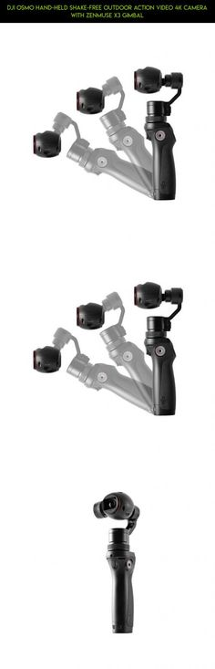DJI Osmo Hand-held Shake-free Outdoor Action Video 4K Camera with Zenmuse X3 Gimbal #products #dji #parts #tablet #drone #technology #shopping #tech #pro #camera #plans #gadgets #kit #racing #4 #fpv #holder #phantom
