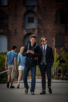 Peter and Harry Osborn