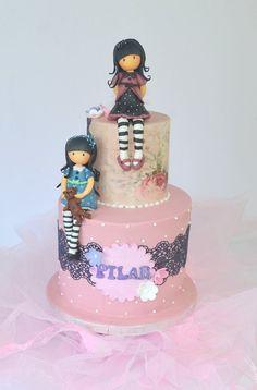 simple mug cake Girly Cakes, Cute Cakes, Apple Cake Pops, Little Girl Cakes, Buttercream Birthday Cake, Fantasy Cake, Doughnut Cake, Maila, Cakes For Women