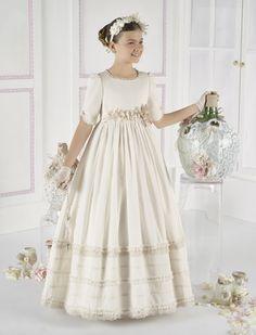 Vestido Comunión Romántico 6637