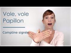 Vole vole papillon: comptine en Langue des Signes Bébé - YouTube