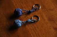 Nautical Rope Key Chain by OYKNOT on Etsy, $8.50