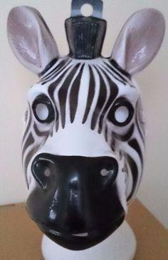 6 Zebra Face Masks Plastic Animal Masquerade Party Schools Theatre Fancy Dress for sale online Zebra Face, Fancy Dress For Kids, Plastic Animals, Masquerade Party, School Parties, Zebras, Face Masks, Dresses For Sale, Schools