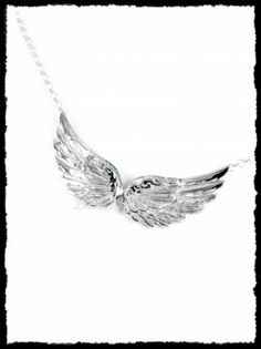 Ezüst  angyalszárny nyakék Silver, Jewelry, Jewlery, Money, Jewels, Jewerly, Jewelery, Accessories