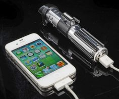 May The Force Be With Every Recharge: Star Wars Lightsaber Power Bank