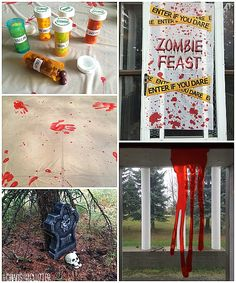 zombie party - Zombie Party Supplies