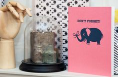 Elephants never forget! And neither will you with this handy notebook: http://bit.ly/1yqcws3 #LibertyHome