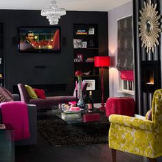3-interesting-ideas-for-living-rooms-Modern-glamour | Home Interior Design, Kitchen and Bathroom Designs, Architecture and Decorating Ideas