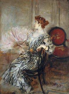 Giovanni Boldini - Madame Torri, danseuse à l'Opéra