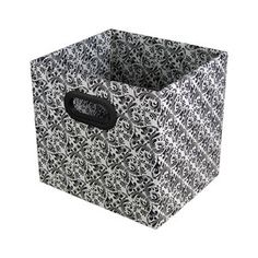 Bankers Box Storage Bin, Brocade, 2-Pack  Found these by accident at Wal-Mart. Love them. Less expensive than baskets and plastic bins!