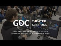 GDC 2017: Substance Painter with Unreal Engine 4 in Paragon's workflow w/ Harrison Moore - YouTube