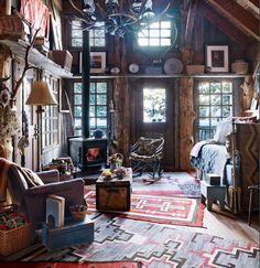 De Cabin Cottage woonstijl: wonen in Navajo sferen