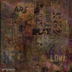 Art Play—a Citra Art abstract by Citra Artist: Christy RePinec, LemonTrystDesigns©2014, Citra Solv art.