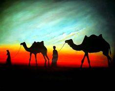 Arabian Camels by ~yaryooor