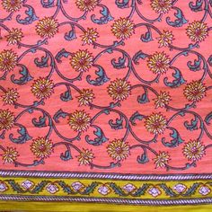 Hand Block Printed - Fabrics Colors - View In Details