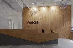 Amedia - Interior architecture project by IARK                                                                                                                                                                                 More