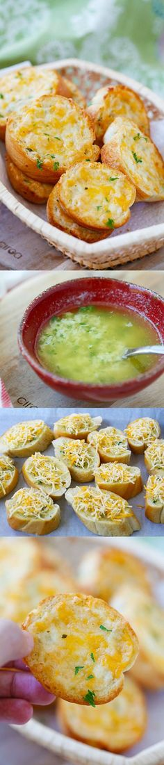 Cheesy Garlic Texas Toast – Buttery Texas Toast with three-cheese topping. So easy, takes 15 mins and SO much better than store-bought!   rasamalaysia.com