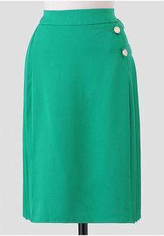 Lenox Hill Pleated Indie Skirt | Modern Vintage Sale | Ruche