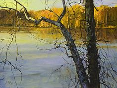 Peter Fiore (1955-) > Along the Canal