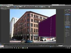 Setting up a Camera Projection using Perspective Match- Part 1 - YouTube