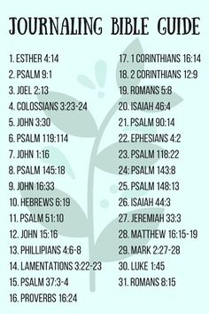 Looking for a plan to get started with your Bible journaling? Here is a printable one! Printable journaling bible plan!