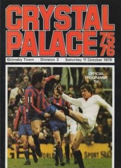 Crystal Palace 2 Chester 0 in Aug 1975 at Selhurst Park. The programme cover Back Day, Back In The Day, Northampton Town, Kim Book, Crystal Palace Fc, Bobby Charlton, Preston North End, League Table