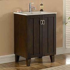 """IN 32 Series 24"""" Single Sink Bathroom Vanity Set"""