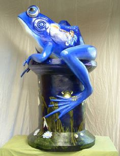Other blue frog