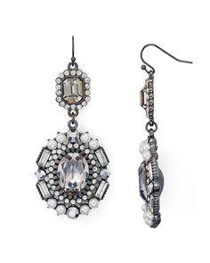 25.20$  Buy here - http://virrr.justgood.pw/vig/item.php?t=cnr4uo53792 - AQUA Genevieve Statement Drop Earrings - 100% Exclusive