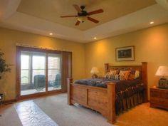 The master bedroom of a Big Lake condo on the Cisco Chain... 7656 Palmer Lake Rd #5, Land O Lakes, WI 54540