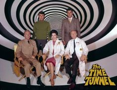 The Time Tunnel; I loved this.  They traveled to Titanic sinking; I remember my dad explaining all about that.