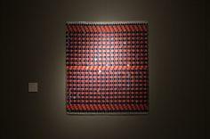 Naghmeh Farahvash Senza titolo Tempera, colla vinilica, pluriball, 74 x 83 cm. 2013