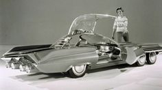 STRANGE CONCEPT CARS - 1962 FORD SEATTLEITE! 4 FRONT WHEELS!