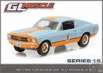 GREENLIGHT GL MUSCLE SERIES 16 1967 Ford Custom '8' GULF Racing 1:64…