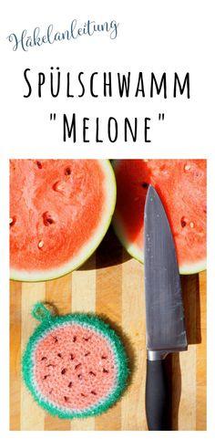 Häkelanleitung: Melone häkeln für Anfänger auf deutsch #häkeln #diy #melone