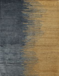 Congo Rug in Silk and Hemp