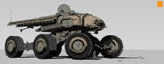 Vehicles, Darren Bartley on ArtStation at https://www.artstation.com/artwork/qoO2z