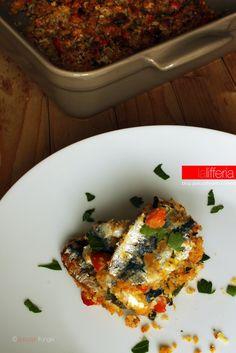 Sardine gratinate al forno con pomodori