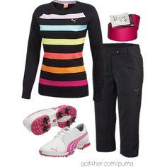 Ladies Golf OOTD: Puma Golf #golf4her #golf