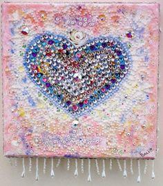 Love So Beautiful Celebrity Stars on Canvas SOLD www.baliartbali.co.uk