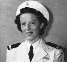 "Nurse Miss Ann A. Bernatitus, Legion of Merit WW2  Miss Ann A. Bernatitus, the only U.S. Navy nurse to escape from Bataan, becomes the first member of the U.S. Navy to receive the Legion of Merit decoration. Miss Ann A. Bernatitus was one of the group of nurses known as ""The Angels of Bataan"" (or the ""Angels of Bataan and Corregidor"" and ""The Battling Belles of Bataan""). Source: All Hands Magazine, November 1942.  http://www.lonesentry.com/blog/nurse-gets-legion-of-merit.html"