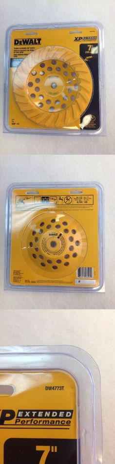 Grinding Wheels and Accessories 79703: Dewalt Turbo Diamond Cup Wheel 7 Dw4773t Brand New -> BUY IT NOW ONLY: $40 on eBay!