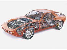 1979 Porsche 928 with original optical seat cover design