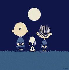 ... Clair de lune.
