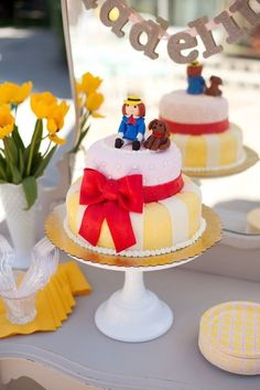 Top the cake with Madeline and Genevieve - Kids Birthday Party Ideas Inspired by Awesome Books - Photos